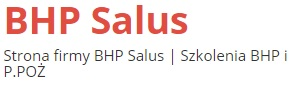 BHP Salus